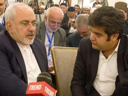عکس: ظریف: روابط تهران و باکو در مذاکرات و پس از برجام افزایش یافته است / سیاست