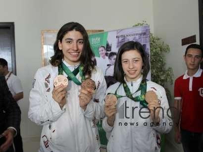 عکس: ایران روز گذشته دو مدال طلای دیگر درو کرد / آذربایجان