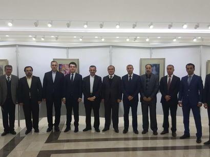 عکس: نمایشگاه آثار استاد فرشچیان در نخجوان افتتاح شد / اجتماعی