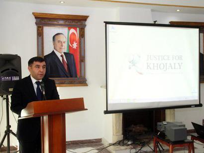 عکس: بزرگداشت فاجعه خوجالی در سفارت آذربایجان  / سیاست