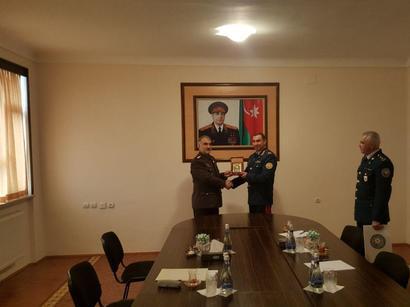 عکس: سفر وابسته نظامی سفارت جمهوری اسلامی ایران در باکو به نخجوان / سیاست