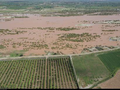 عکس: سیل ۳۸ هزار و ۵۲۸ میلیارد ریال خسارت به بخش کشاورزی وارد کرد / اجتماعی