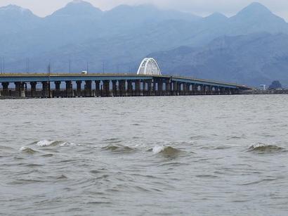 عکس: تراز دریاچه ارومیه 45 سانتی متر افزایش یافت / اجتماعی
