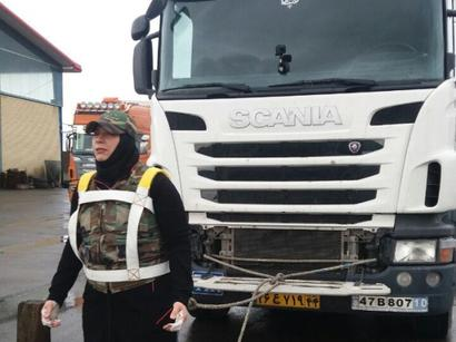 عکس: بانوی تبریزی رکورد قوی ترین زن جهان را شکست / اجتماعی