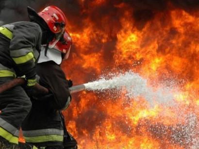 عکس: آتش سوزی خط انتقال نفت امیدیه-اهواز استان خوزستان   / اجتماعی