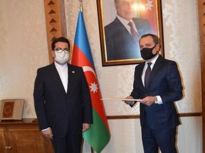 عکس: تاکید بر روابط دوجانبه آذربایجان و ایران / سیاست
