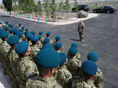 عکس: رئیس جمهور آذربایجان: مرز جمهوری آذربایجان و ایران مرز دوستی است  / سیاست