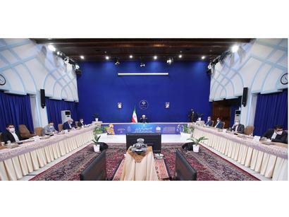 عکس: روحانی:  روابط ایران با آذربایجان گسترده میشود   / سیاست
