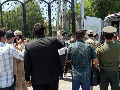 عکس: انتقال بیست زندانی ایرانی از آذربایجان به ایران    / سیاست