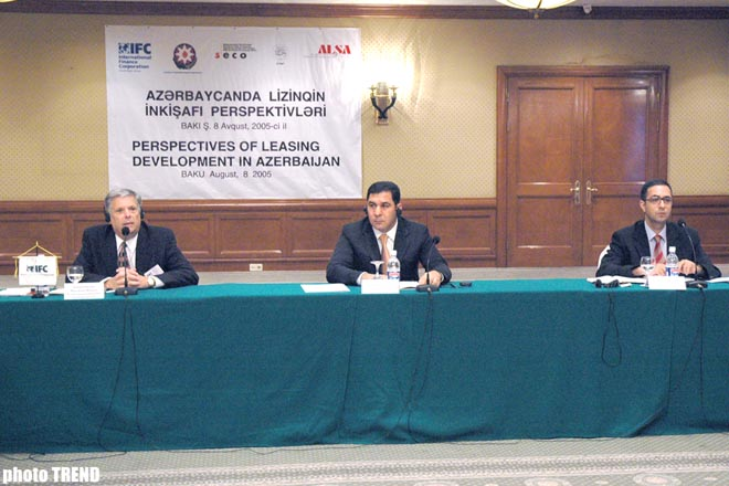 ROUNDTABLE ON PERSPECTIVES FOR DEVELOPMENT OF LEASING IN HELD IN BAKU