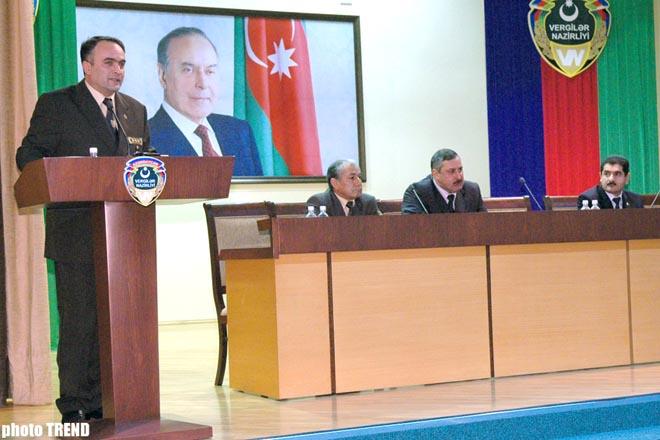 Hа конкурсной основе в налоговые органы Азербайджана принято 46 человек
