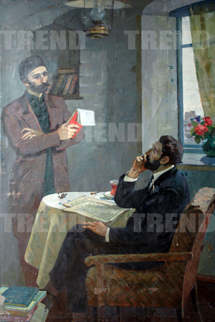 Хафиз Зейналов - ярчайший представитель Санкт-Петербургской художественной школы - Омар Эльдаров