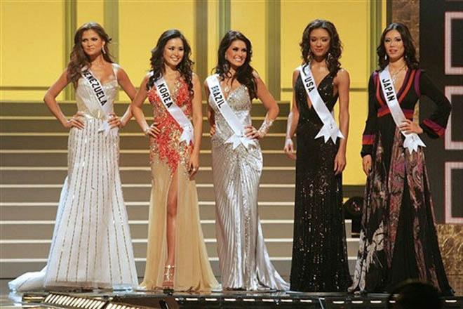 """Конкурс """"Мисс Вселенная-2007"""" прошел со скандалом."""