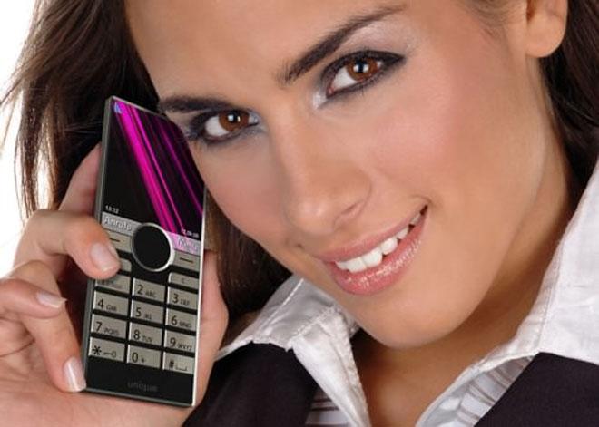 Ultra flat Sony Ericsson handset