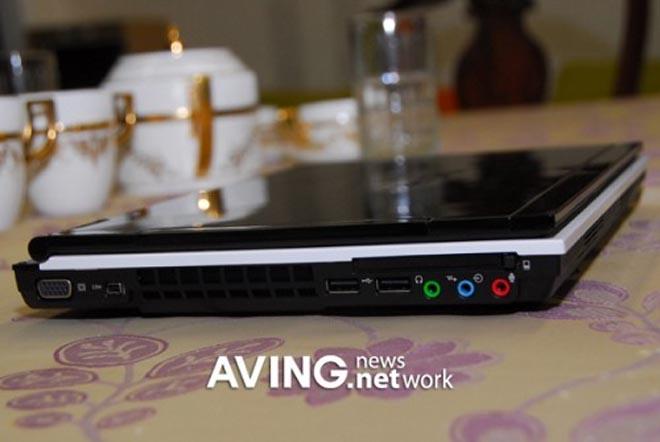 12-дюймовый ноутбук LG R200 на основе Intel Centrino Duo