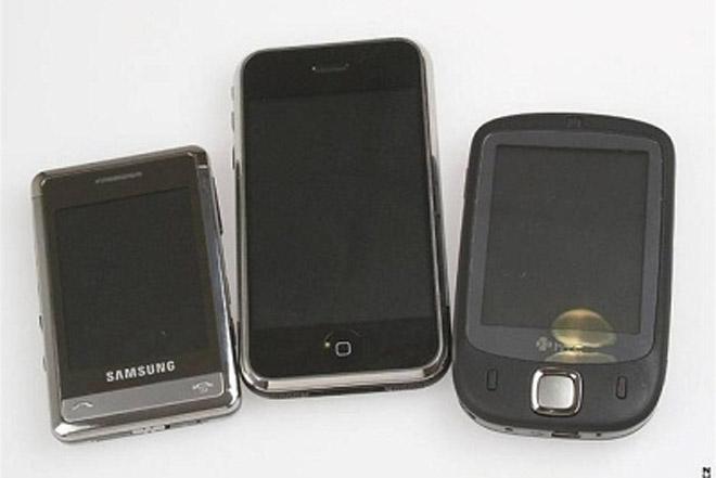 """""""Живые"""" фотографии Samsung SGH-P520"""