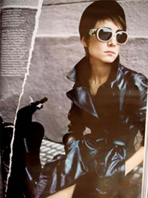 Земфира обнажилась для Vogue