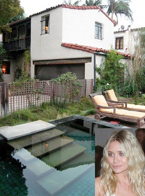 Ashley Olsen buyes new house