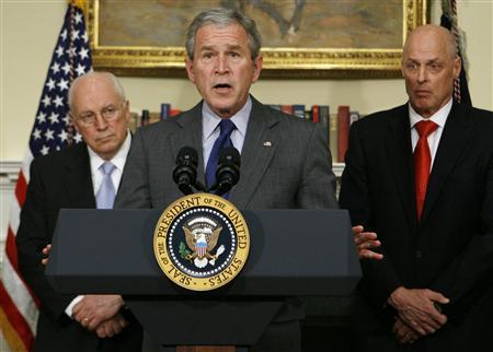 Bush Addresses Nation, Makes Veto Threats (video)