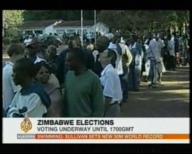 В Зимбабве началось голосование по выборам президента страны и  депутатов парламента (видео)
