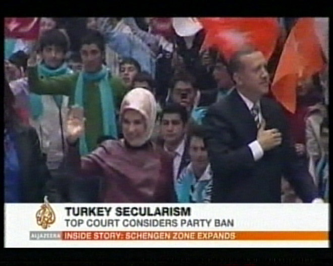 Turkish court takes up case against ruling party (video)