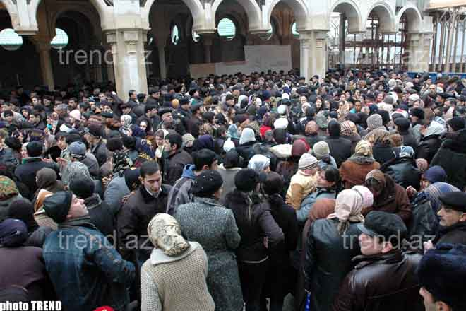 Shiite of   Azerbaijan Mark Day of Ashura (video)