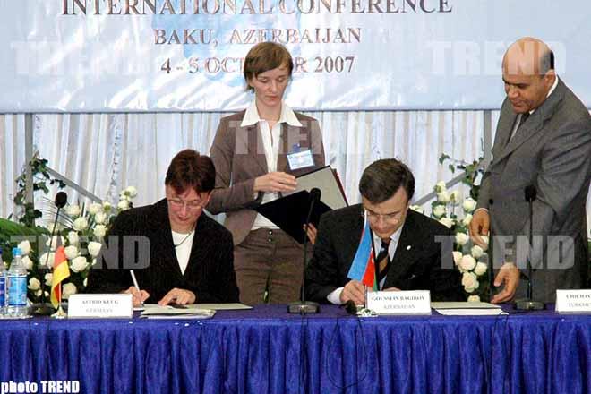 Almaniya və Azərbaycan arasında anlaşma memorandumu imzalanıb