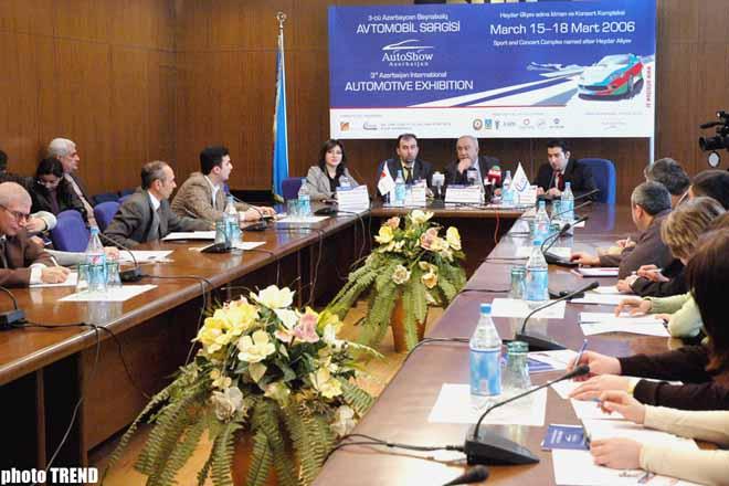 В AutoShow-2006 примут участие более 20 азербайджанских компаний