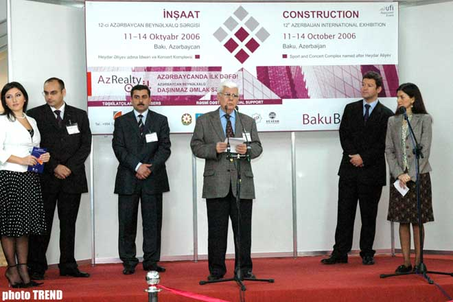 Azerbaijan`s International Expo - BakuBuild 2006 Started in Baku