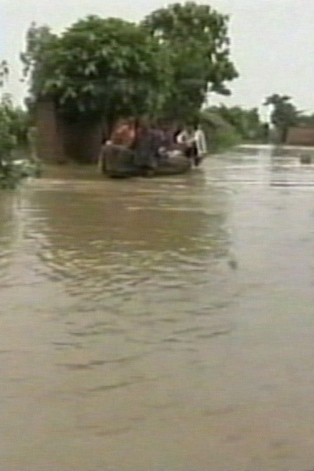 """UN chief """"saddened"""" by deadly floods in  South Asia (Video)"""