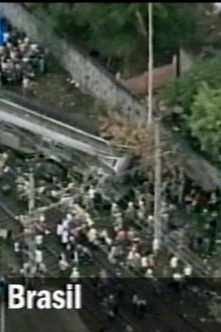Железнодорожная авария в Рио-де-Жанейро: есть жертвы (видео)
