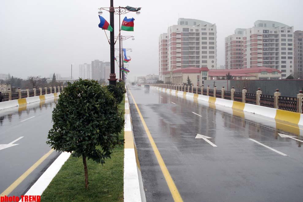 Azərbaycan prezidenti: Yeni körpülərin açılışı nəqliyyat sistemini yaxşılaşdırmağa imkan verəcək