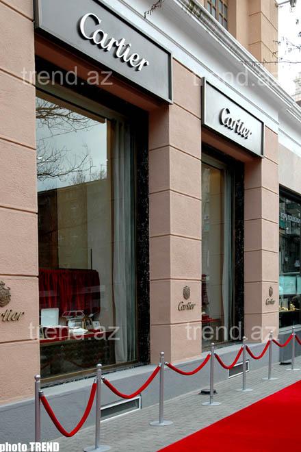 Моника Белуччи и Патрисия Каас открыли бутик Cartier в Баку (видео+фотосессия)