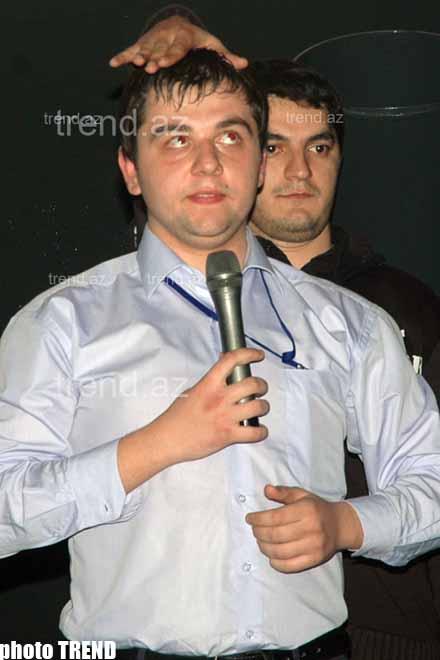 В Баку побаловались Комеди Клабом (фотосессия)