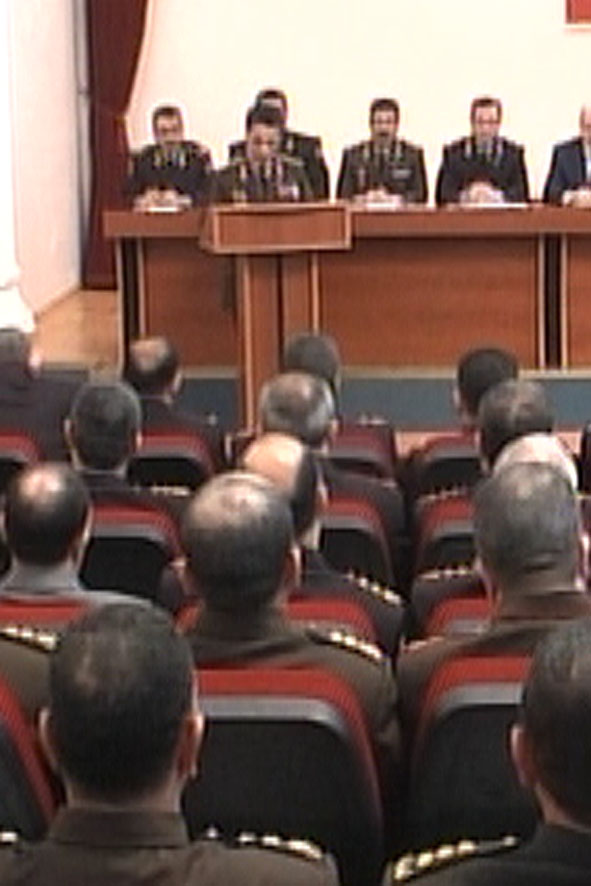 Azerbaijani Interior Ministry Holds Meeting to Discuss Results of 2007 (video)