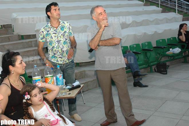 Певца Надира Гафарзаде тренируют композиторы  Говхар Гасанзаде и  Фаик Суджатдинов