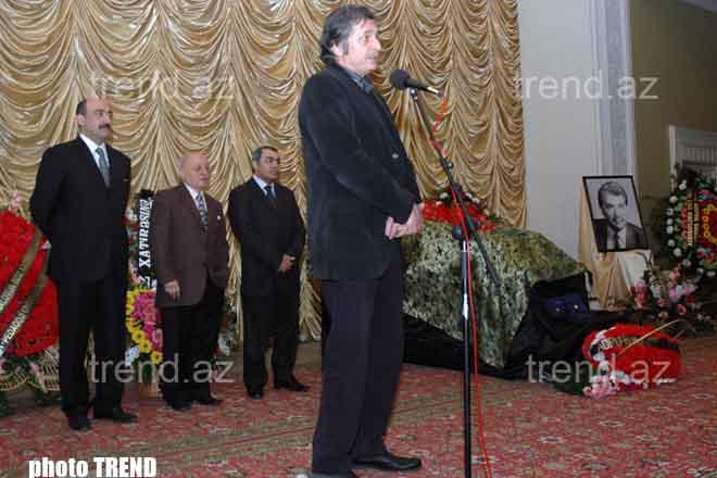 Азербайджанского скульптора Ибрагима Зейналова проводили в последний путь