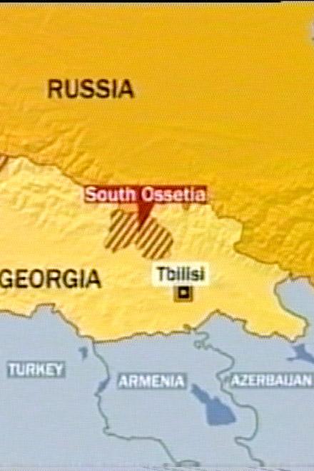 Georgia:   Russia dropped bomb on us (video)