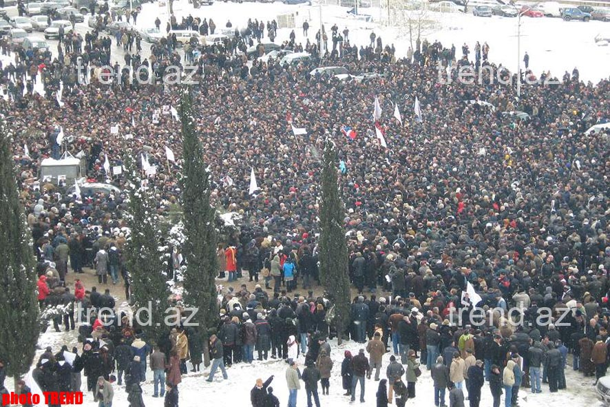 Demonstration of   Opposition Took Place in Georgia – Photo-session