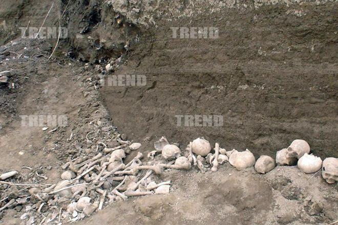Azərbaycanın Quba rayonunda tapılan  kütləvi insan məzarlığında aparılan ekspedisiyanın ilkin nəticələri müəyyənləşib