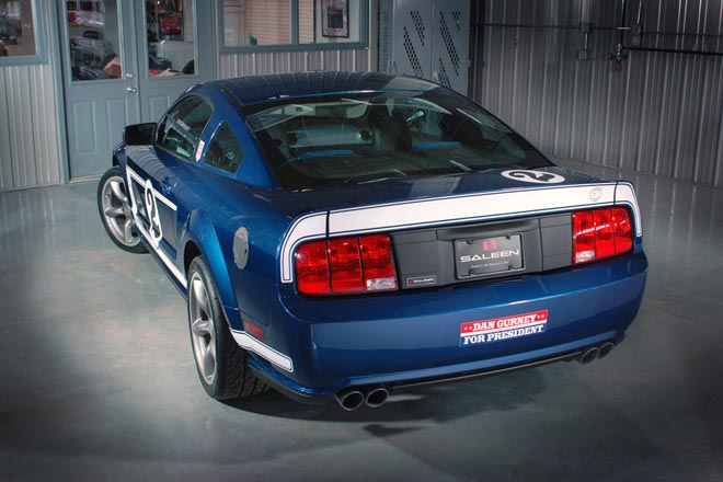Saleen releases Gurney Signature Edition Mustang