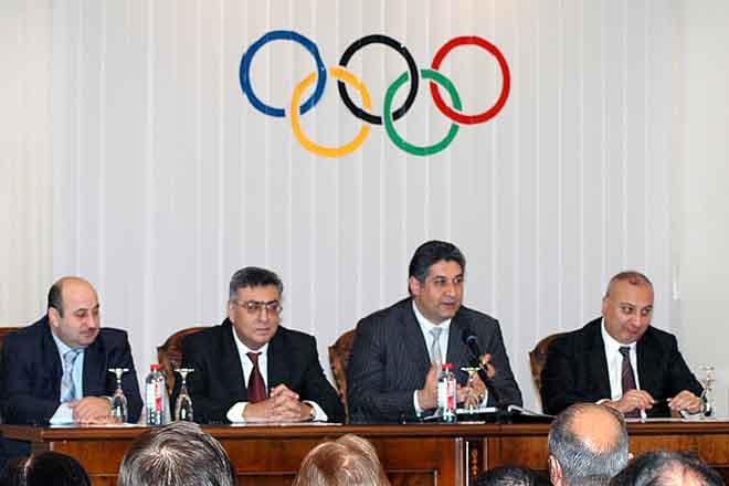 Mehriban Əliyeva ikinci dəfə Azərbaycan Gimnastika Federasiyasının prezidenti vəzifəsinə seçilib