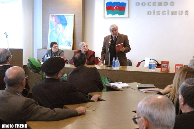 Russian historian held presentation of his book in Azerbaijan