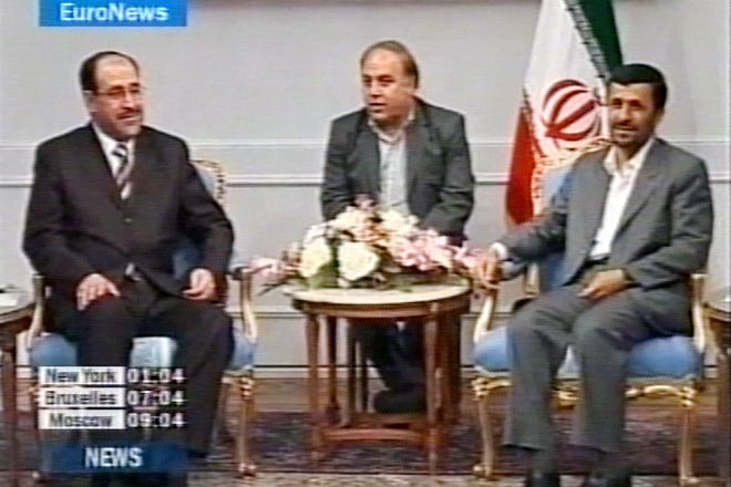 Iraqi prime minister meets Iranian officials to discuss improving security in Iraq (video)