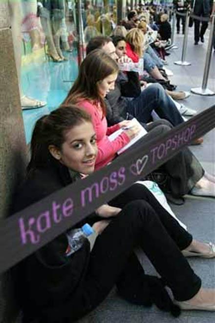 Коллекция одежды Кейт Мосс вызвала ажиотаж