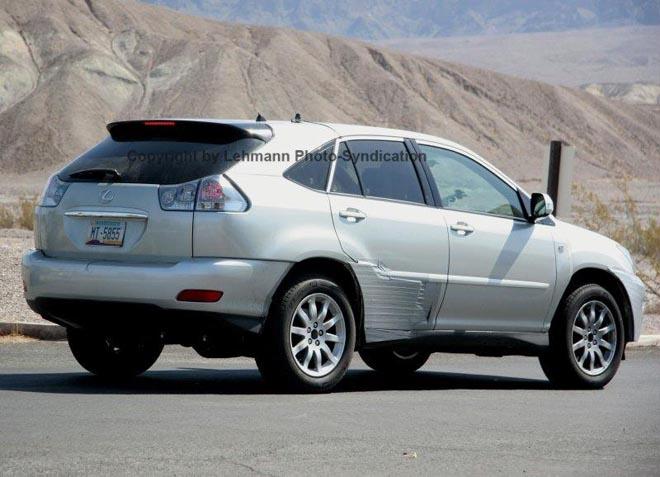 Lexus RX350 Test Mule Spy Photos