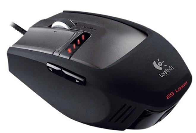 Универсальный солдат: лазерная мышь Logitech G9