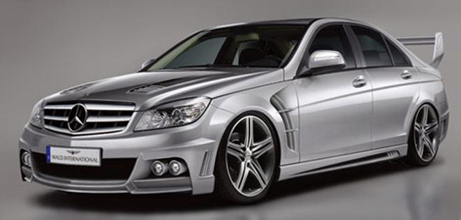 Японский тюнер показал свои версии Mercedes C- и S-Class