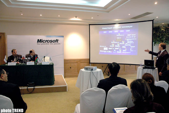 Microsoft officially announces opening of office in Baku