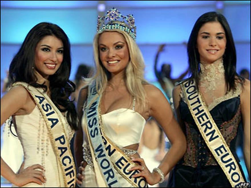"""Конкурс """"Мисс-мира"""" 2006 в фотографиях"""